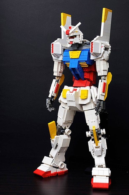 Lego Mecha Mashup of the Day
