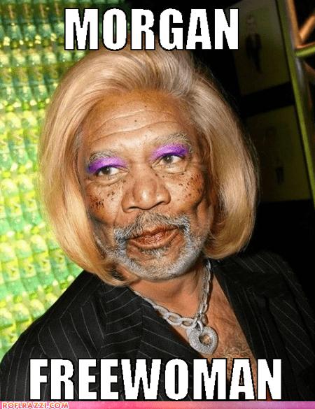 change,Morgan Freeman,name,photoshop,puns,woman