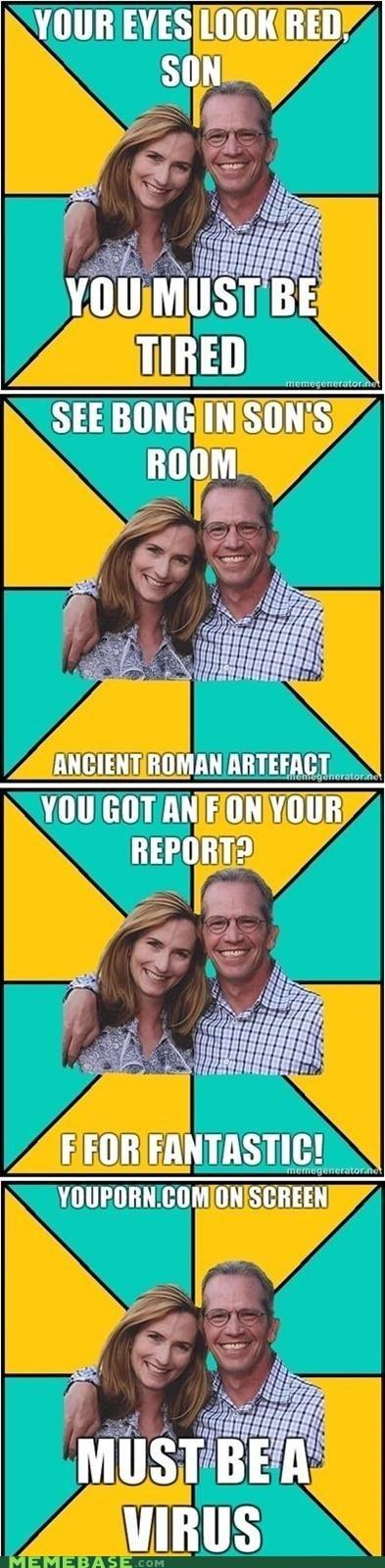 Oblivious Parents