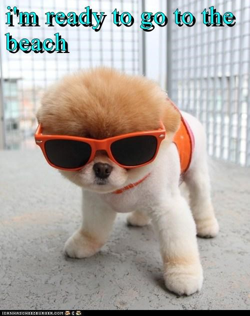 i'm ready to go to the beach