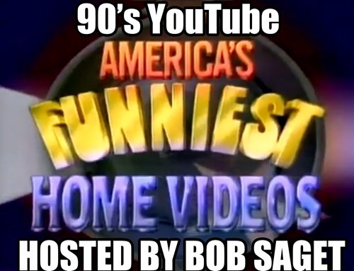 Back when I was a kid, YouTube only came on once a week.