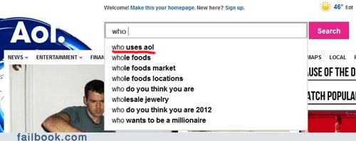 AOL Search FAIL