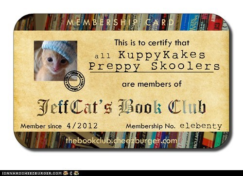 For the little bookworms at KuppyKakes Preppy Skool :-)