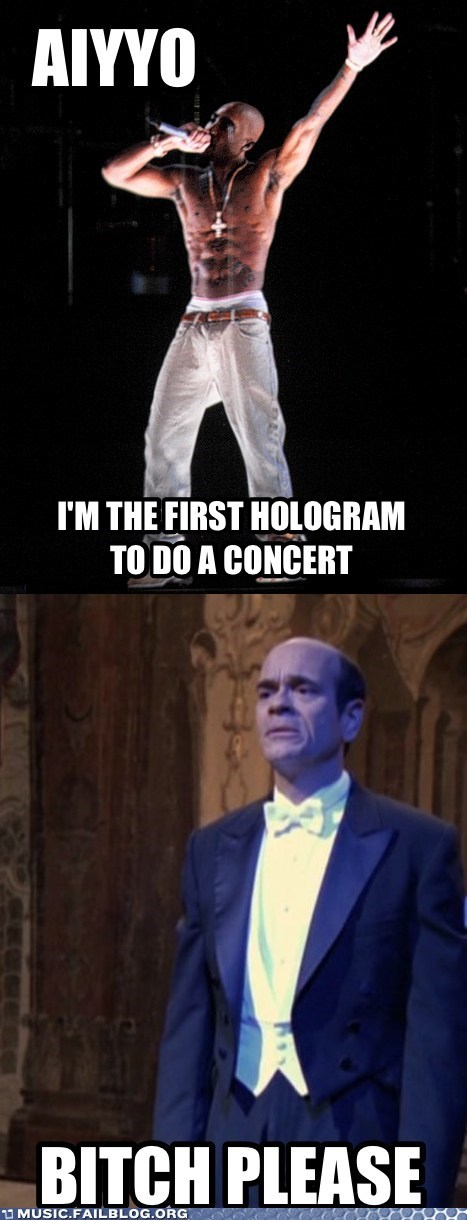 The First Singing Hologram