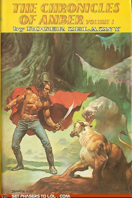 WTF Sci-Fi Book Covers: The Chronicles of Amber