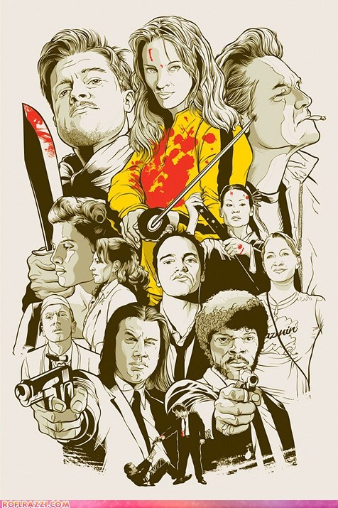 The Greatest Quentin Tarantino Collage Ever