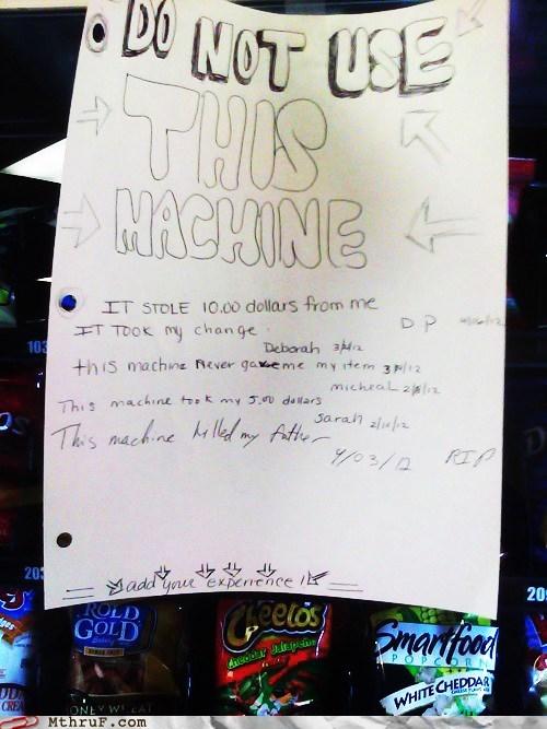 inigo montoya,vending machine