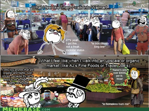 meme mart,organic,Rage Comics,shopping,smart,trader joes