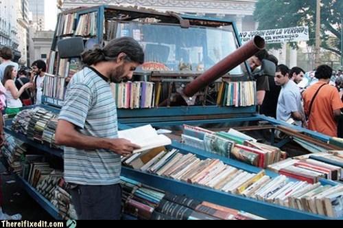 argentina,argentine,books,raul lemesoff,reading,tank