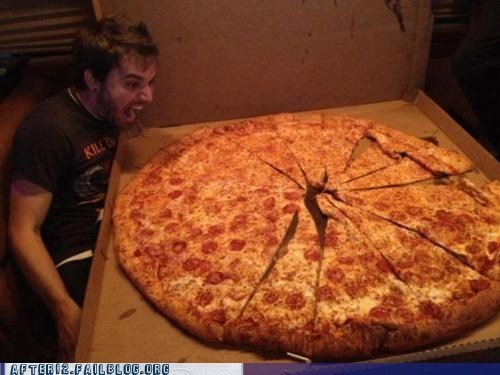 The XXXL Pizza