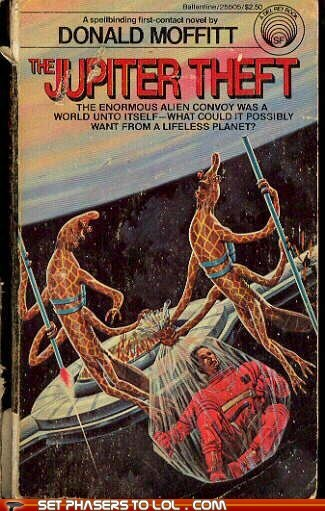 WTF Sci-Fi Book Covers: The Jupiter Theft