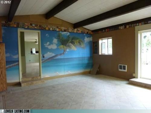 beer mats,coasters,mural,Palm Tree