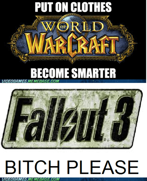 fallout 3,gaming logic,lab coat,scientist,smarter,the internets