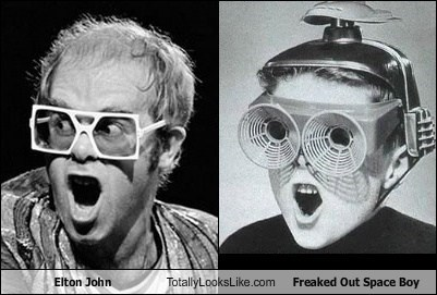 Elton John Totally Looks Like Freaked Out Space Boy