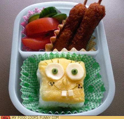 Spongebob Bento