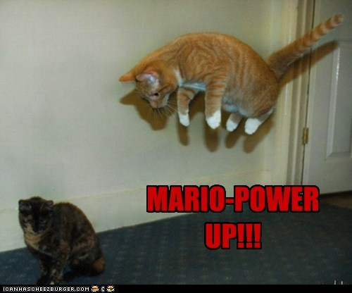 MARIO-POWER UP!!!