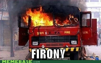 fire,gift of the magi,irony,Memes,truck