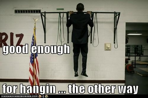 good enough for hangin ... the other way