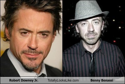 Robert Downey, Jr. Totally Looks Like Benny Benassi
