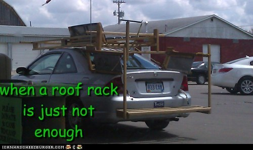 when a roof rack is just not enough