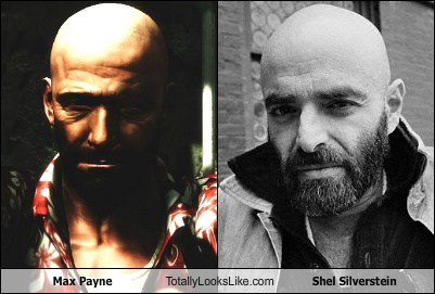 Max Payne Totally Looks Like Shel Silverstein