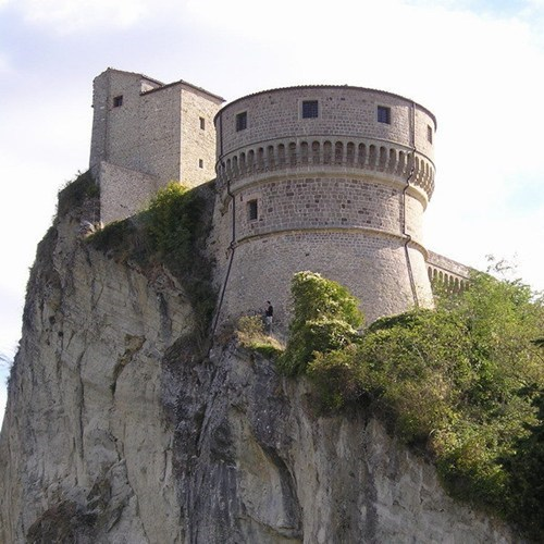 castle,cliff,Italy