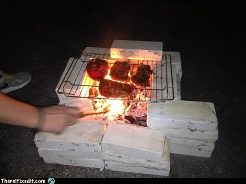 barbecue,bbq,bbq grill,bricks,grill