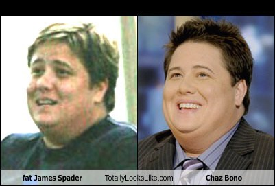 Fat James Spader Totally Looks Like Chaz Bono