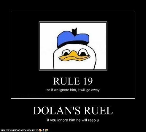 dolan's rule,ignore,raep,rule 19