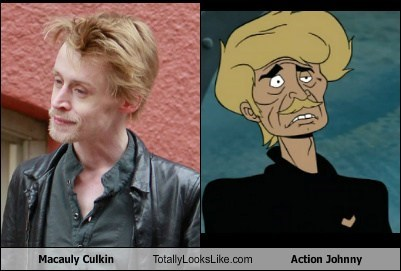 action johnny,actor,celeb,funny,macaulay culkin,TLL