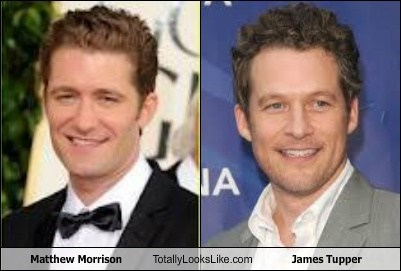 TLL Classic: Matthew Morrison Totally Looks Like James Tupper