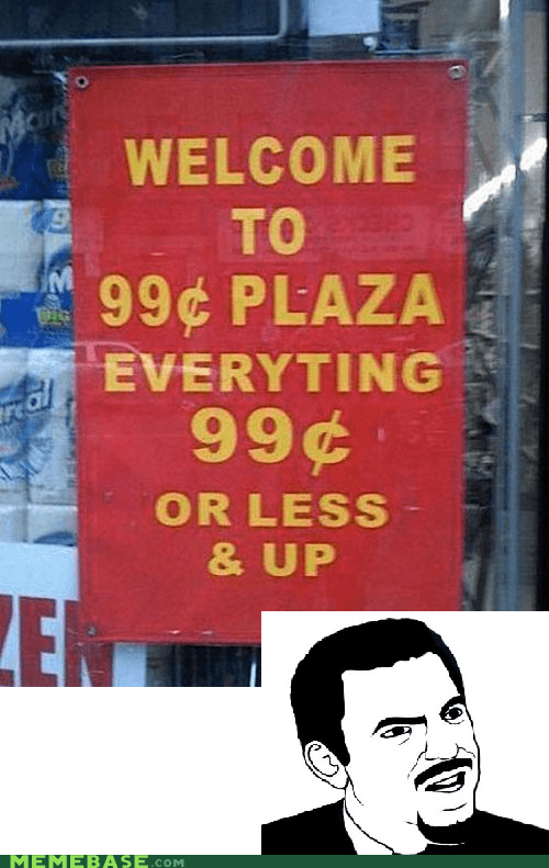 Sort of 99 Cent Store
