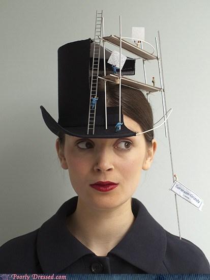 hats,under construction