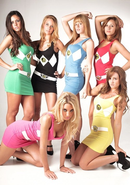 Power Rangers Dresses of the Day