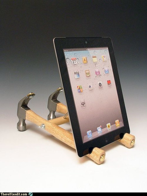 iPad Stand: Nailed It!