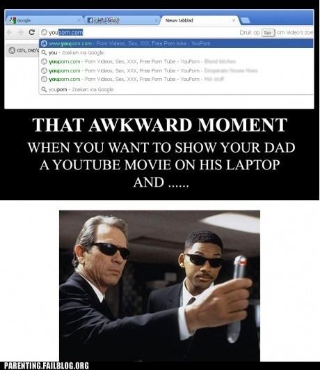 Awkward Moment,computer history,fap,men in black,youtube
