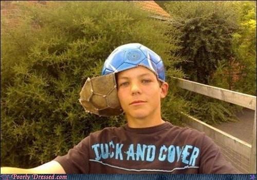 hats,soccer,you look so dumb