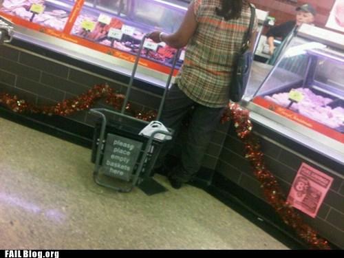 basket,dumb customer,grocery,shopping