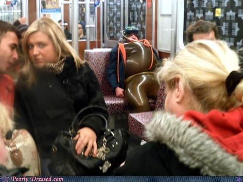 public transport,scuba,suit,the bends