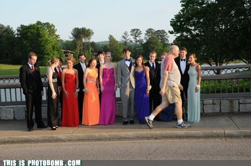 bad timing,Good Times,Photo,prom,walking by