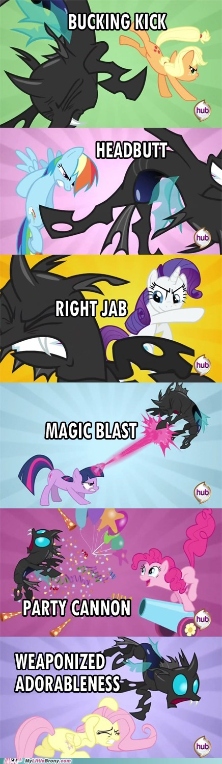 Pony Fighting Styles