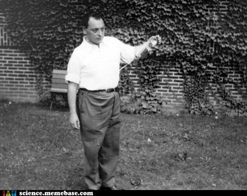 Happy Birthday Wolfgang Pauli!