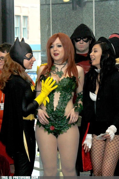 batman,cosplay,costume,grope,nightwing,poison ivy