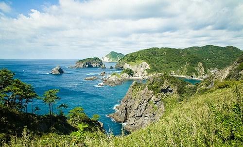 beach,Japan,ocean,peninsula