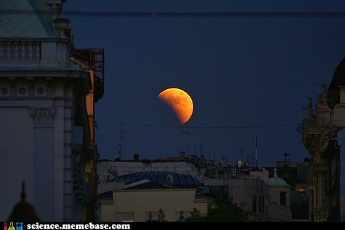 Red Eclipse Over Serbia