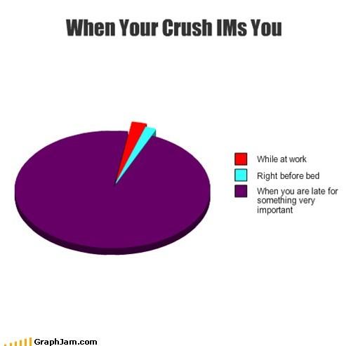 crush,im,Pie Chart,reply,texting