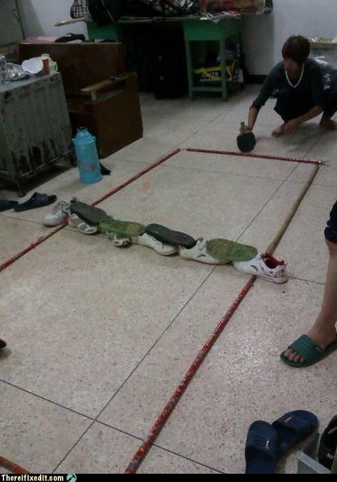 Floor Tennis