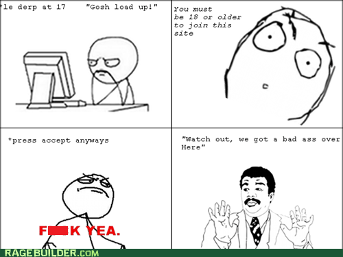 Rage Comics: We Got a Law Breaker Over Here