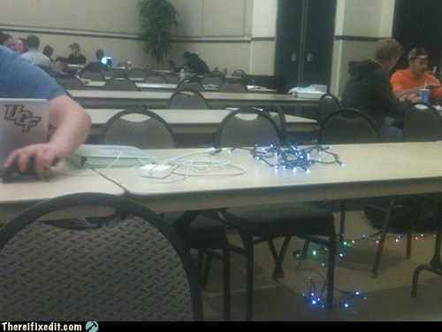 Using Christmas Lights as an Extension?