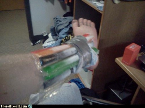 There I Fixed It: Healthcare Level: College Student